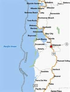 oceanside oregon map trout fish