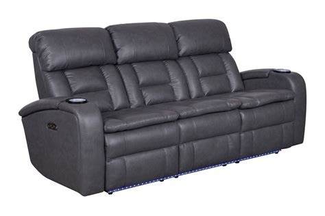 Zenith Power Reclining Sofa With Drop Down Table At Reclining Sofa With Table