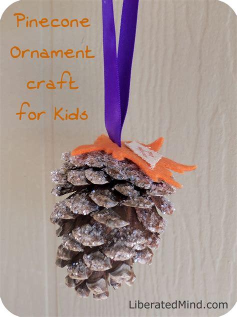 pine cone ornament kid craft pine cone crafts pinterest pine cone