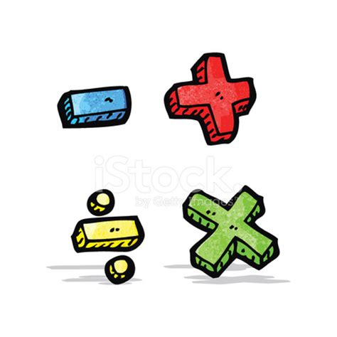 cartoon math symbols stock photos freeimages.com
