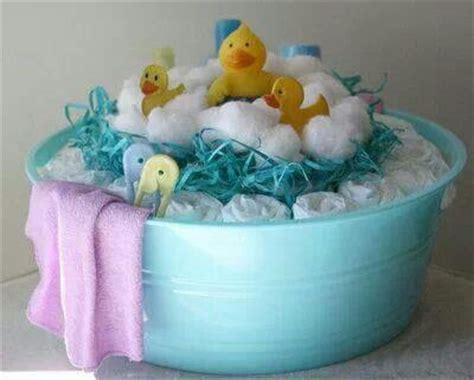 bathtub diaper cake baby shower diaper cake turned bathtub 2 baby shower