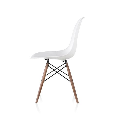 eames chair side table eames molded plastic side chair dowel base by charles