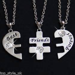 new 3 part best friends necklace jewellery rrp 163 29