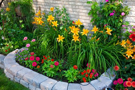 simple flower bed ideas flower beds installation kansas city and liberty