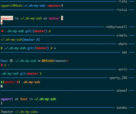 themes zsh theme chooser fox s theme by volpino 183 pull request 482