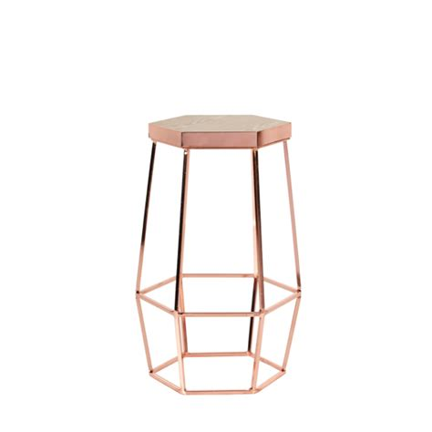 Ideas For Copper Bar Stools Design Space To Create Hex Bar Stool Copper Design