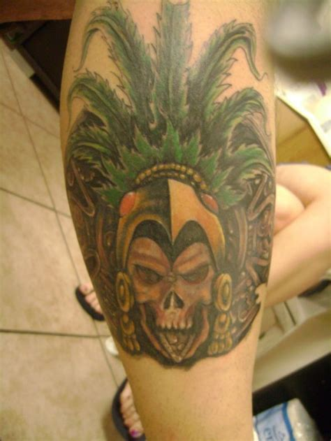 Ultimate List Of Cool Aztec Tattoo Designs Cssclick Pictures Of Aztec Warrior Tattoos