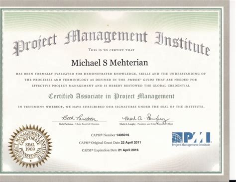 pursuing the pmp and capm the if the what and the how books michael mehterian capm certificate