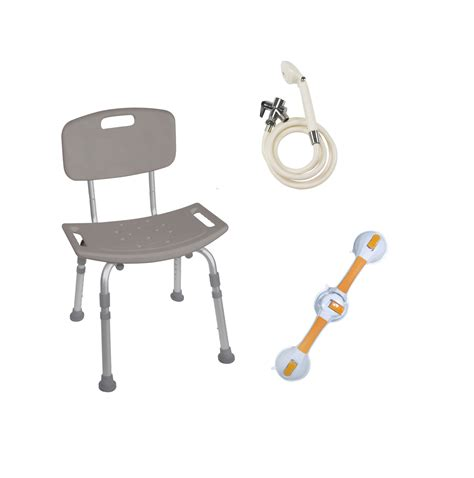 Shower Safety Bars by Shower Tub Chair Grab Bar Safety Bundle In Houston Tx By