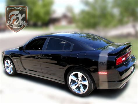 dodge charger stripes racing stripes rt graphic kit