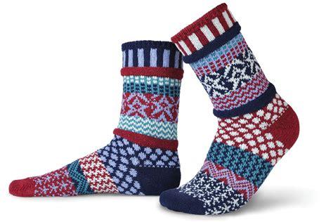 solmate socks stars stripes the mole hole