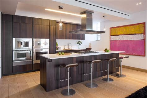 kitchen islands and bars kitchen island breakfast bar penthouse apartment in tribeca new york city
