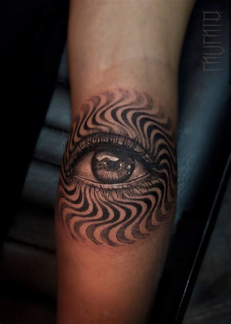 psychedelic eye tattoo www pixshark com images