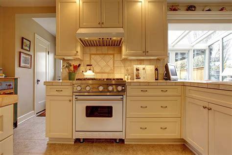 Wood Top Kitchen Island Traditional Kitchen Remodeling Kitchen Remodeler