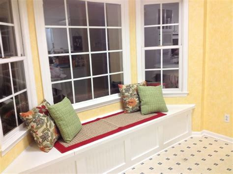 how to build bay window bench build a window seat with storage