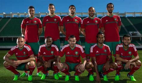 Nouveau maillot pour l'équipe du Maroc de football (photo) L Equipe Football