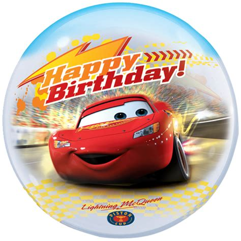 Balloon Decoration At Home by 22 Cars Happy Birthday Bubble Balloon 8470 P Png