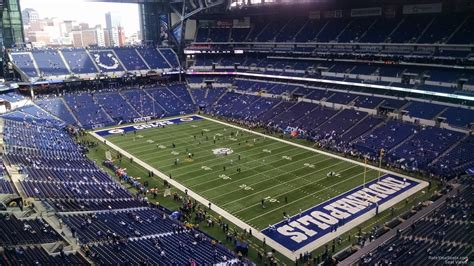 lucas oil stadium sections lucas oil stadium section 632 indianapolis colts