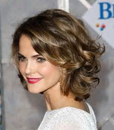 hair cuts for slightly wavy hair medium curly hairstyles for women 2017