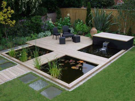 Gartenteich Modern