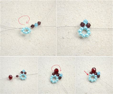 Handmade Jewellery Step By Step - beaded jewellery designs an adorable necklace with