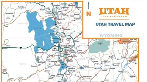 printable map utah 4 best images of printable road map of utah utah road