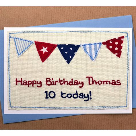 Handmade Birthday Cards For Boys - handmade personalised birthday card for boys by