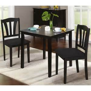 Walmart Dining Room Sets Metropolitan 3 Piece Dining Set Multiple Finishes