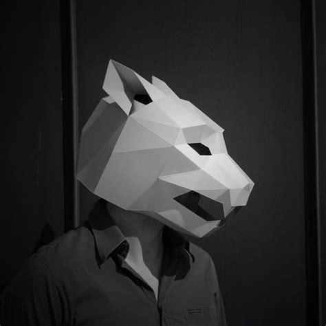 Printable Masking Film   jaguar mask you print and fold from wintercroft fun