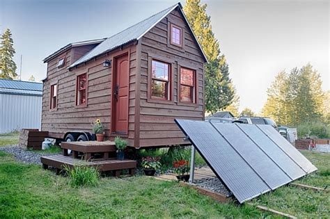 Mobile Tiny Tack House Is Entirely Built By Hand And Tack Tiny House