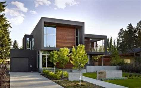 modern  contemporary cube shaped houses modern