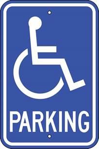 Handicap Parking Sign   ClipArt Best