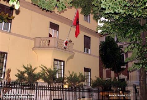 consolato roma consolato e ambasciata albanese in italia albania trip