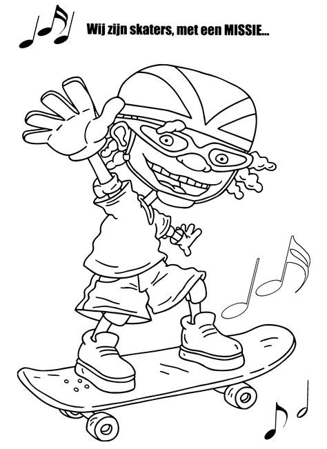 coloring pages rocket power rocket power coloring pages coloringpages1001 com