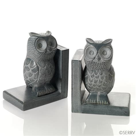 owl bookends bookends and doorstops gray owl bookends
