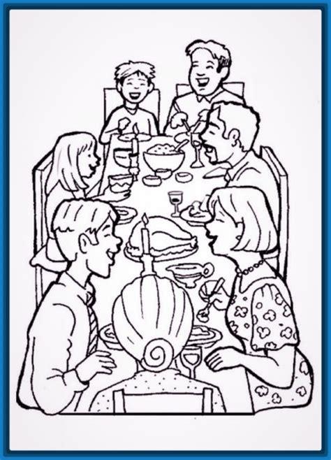 imagenes de una familia para dibujar faciles dibujo de una familia cenando archivos dibujos faciles
