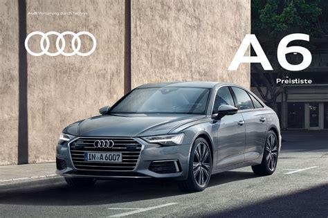 Audi Preisliste A6 by Preislisten Audi Mediacenter