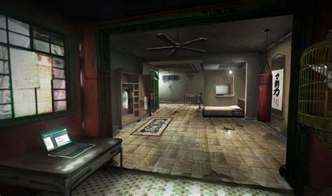 watch dogs house sleeping dogs north point safehouse interior 2 by kuren on deviantart