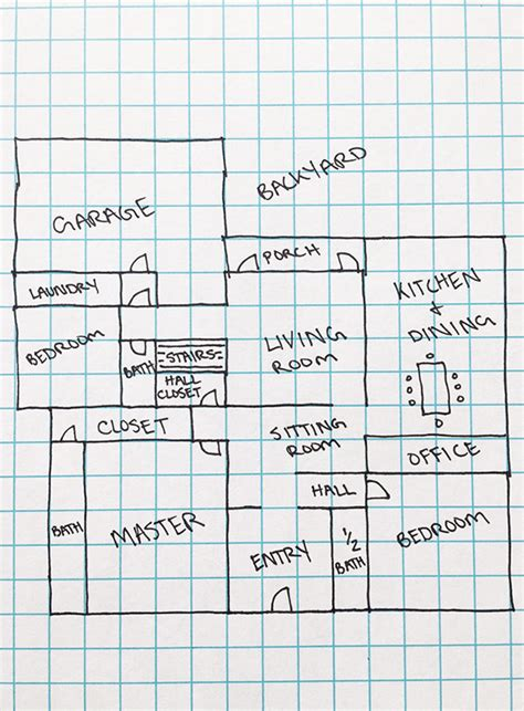 graph paper floor plan our favorite floor plans design sponge