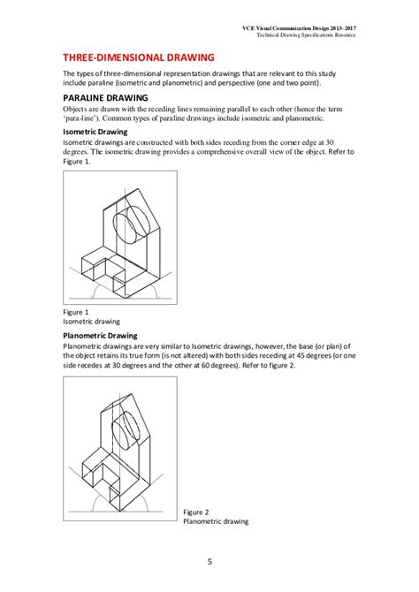 Visual Communication Design Technical Drawing | technical drawing specifications