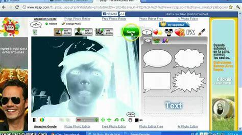 programa para camara web efectos para fotos camara web