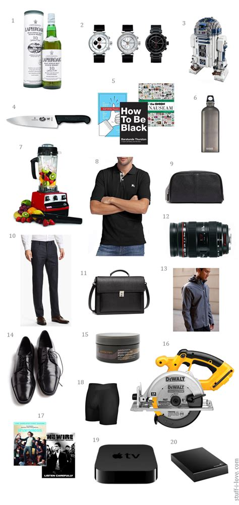 what men want for christmas holiday gift guide stuff i