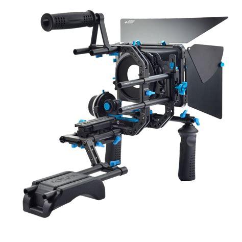 Dslr Rig Set Kit Handheld Shoulder Mount Follow Focus Matte Box fotga dp3000 dslr rig set kit shoulder mount rig for
