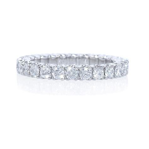 1 23ct platinum eternity wedding band ring