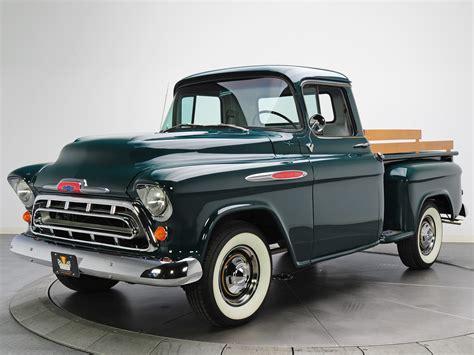 1957 chevy stepside pick up 1957 chevrolet 3100 stepside pickup truck 3a 3104