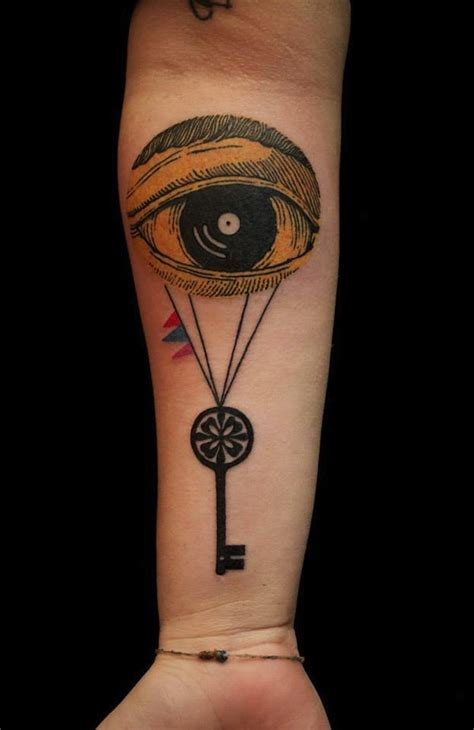 eye keyhole tattoo meaning 144 ingenious key tattoos