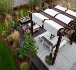 Pergola Fabric Cover by Pergola And Patio Covers Freestanding But Protected