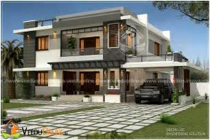 Home Plans 2017 by 2465 Square Feet Double Floor Contemporary Home Design
