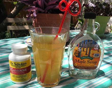 Lemonade Maple Syrup Cayenne Pepper Detox by Integratedhealthblog Creating Health Naturally