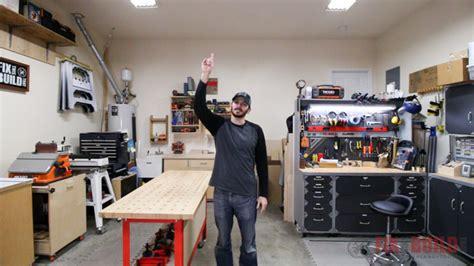 home woodworking shop tours woodworking shop tour jan 2018 fixthisbuildthat